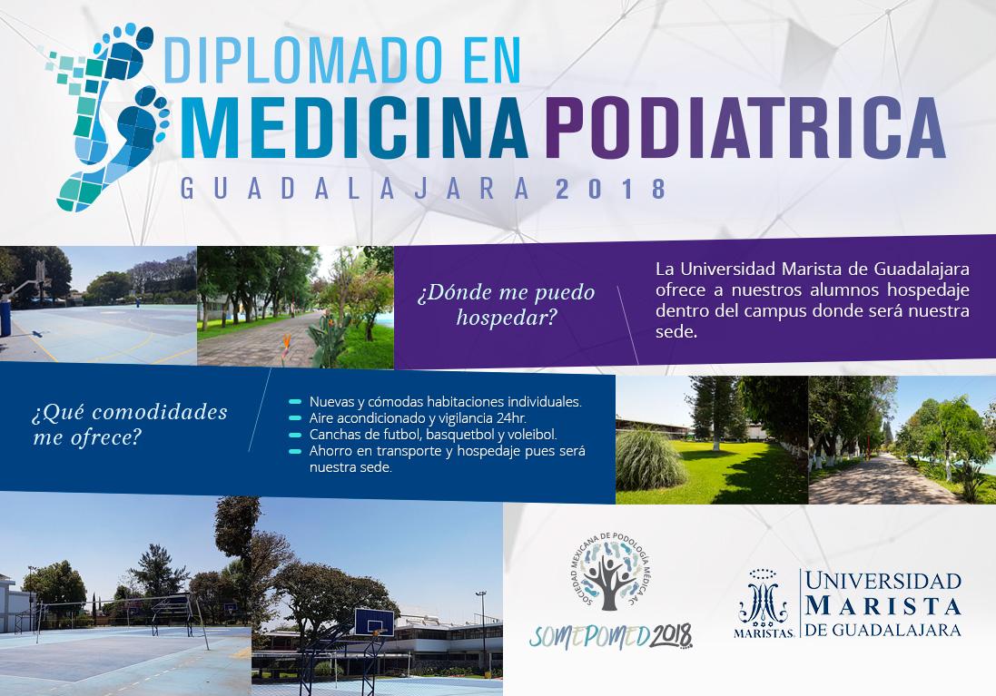 Diplomado en medicina podiátrica 2018